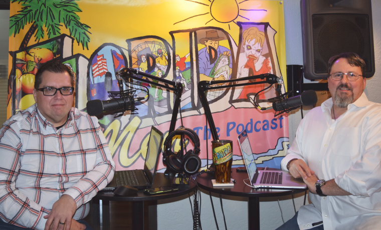 Florida Men Podcast Hosts Joel and Phil